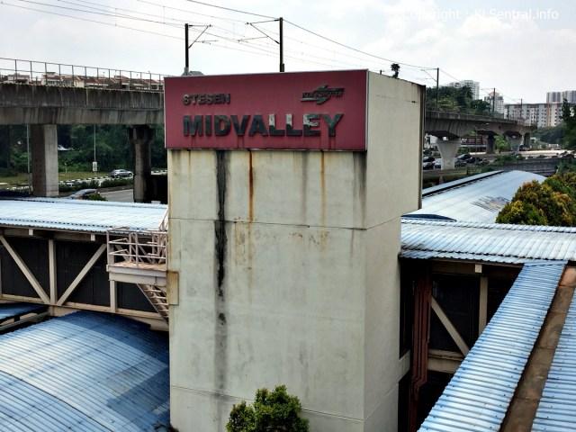 KTM Komuter Mid Valley Station