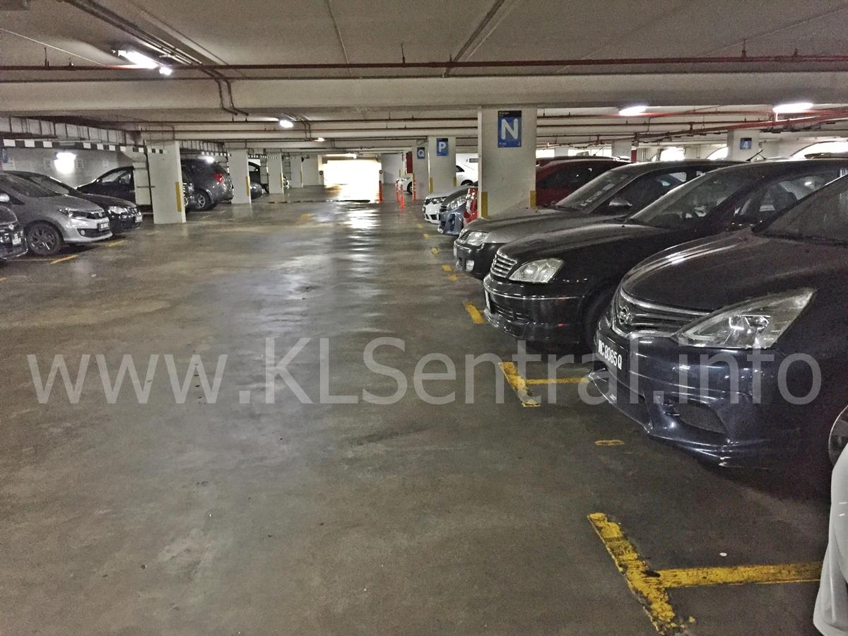 KL Sentral Parking Level 4