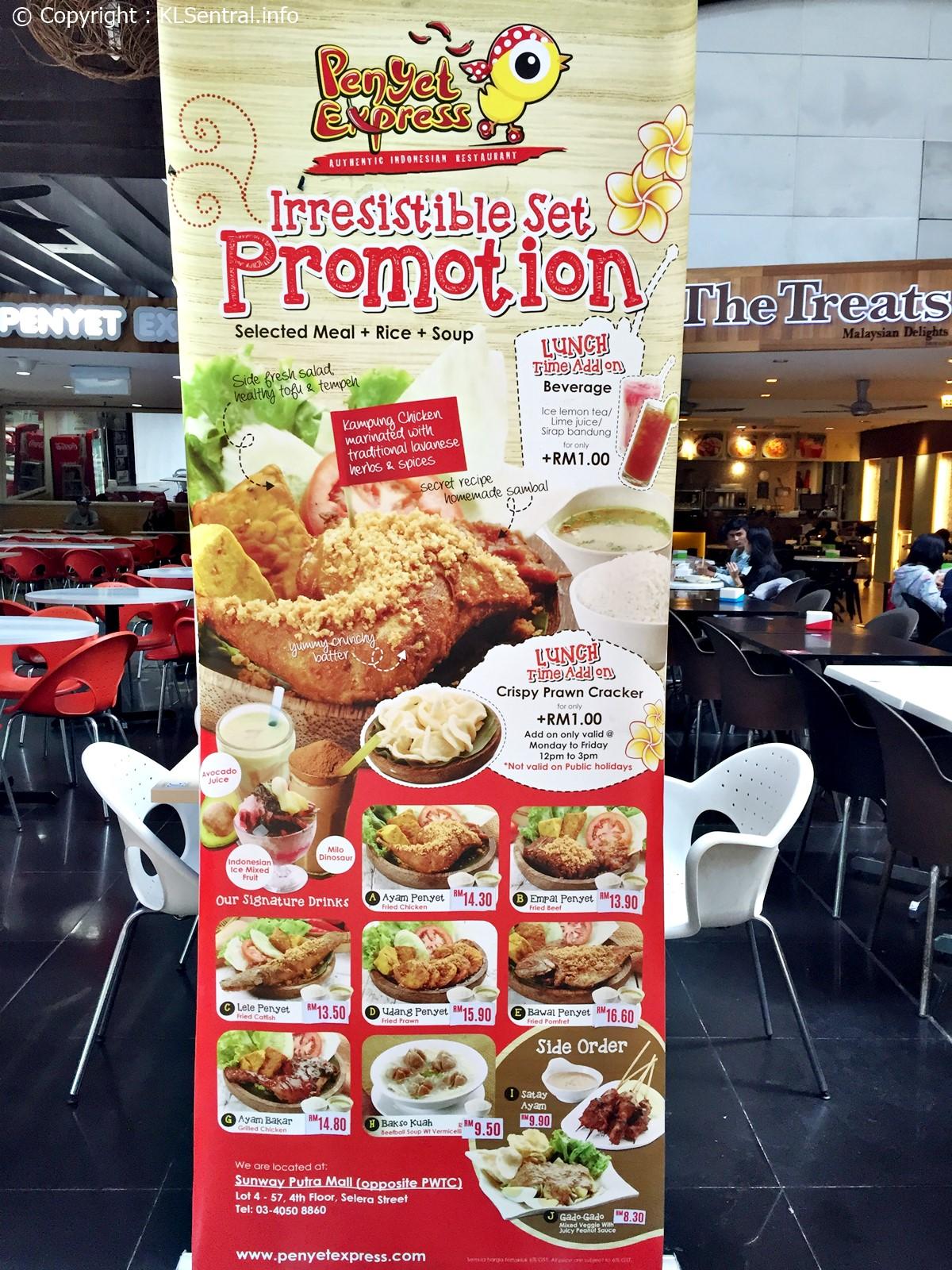 Penyet Express Promotion