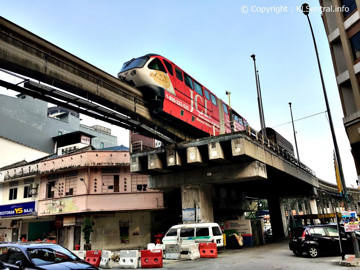KL-Monorail-KL-Sentral-Station-Brickfields-Malaysia