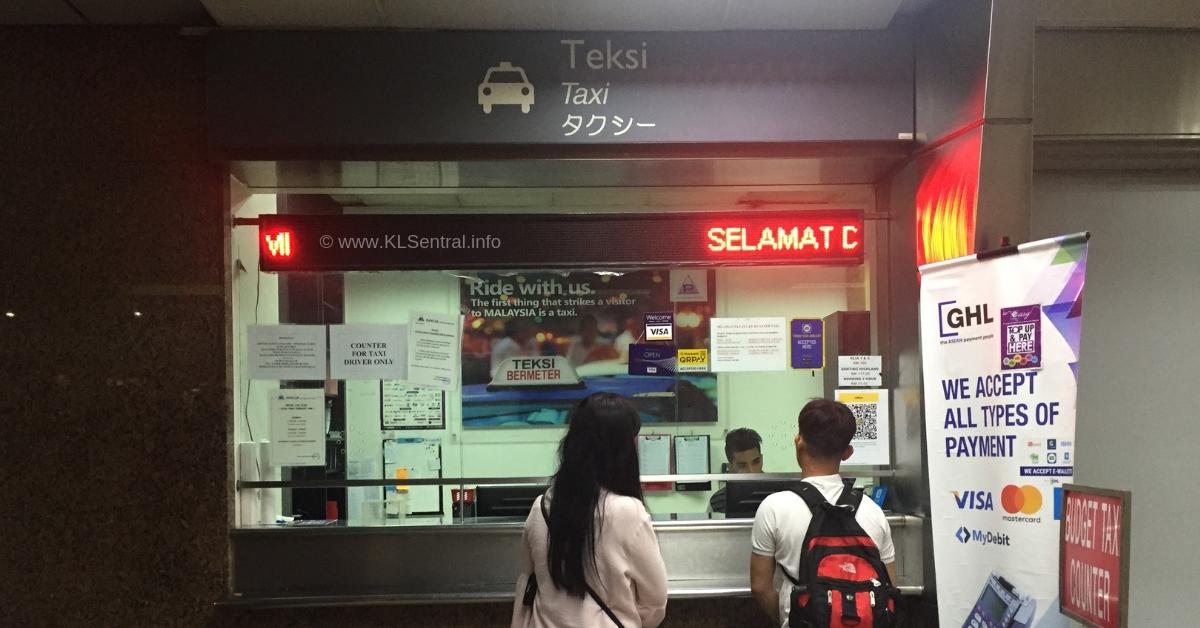 Taxi-Counter-KL-Sentral