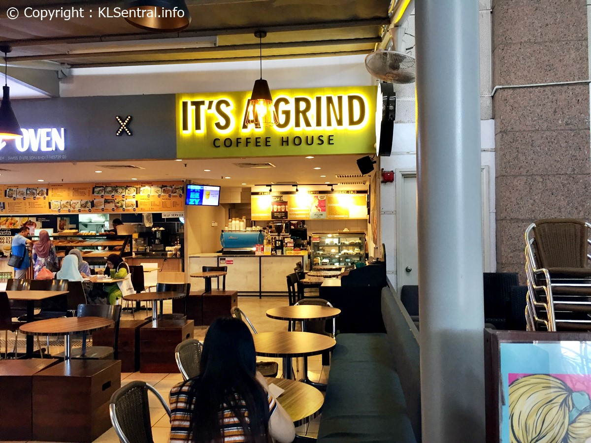 It's A Grind Coffee House KL Sentral