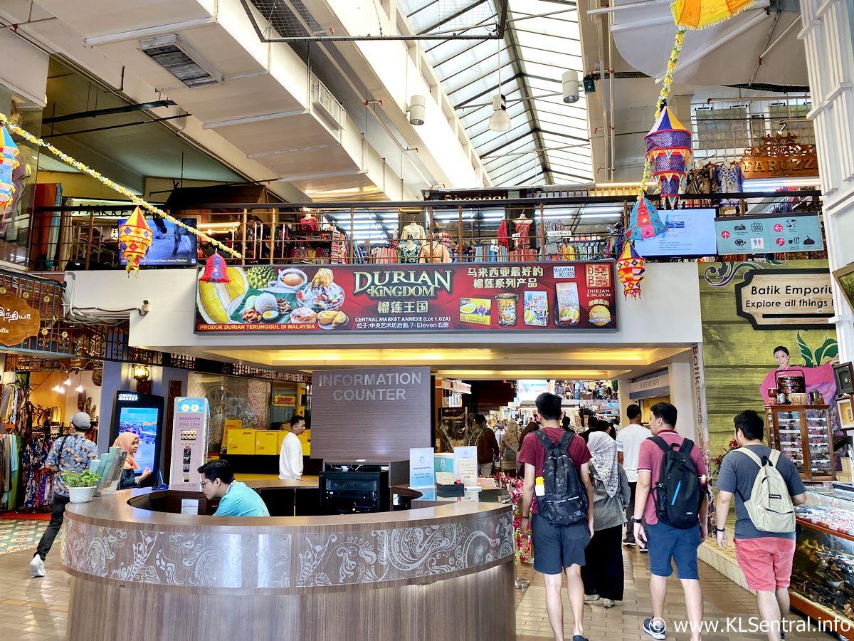 Central Market Kuala Lumpur Information Counter