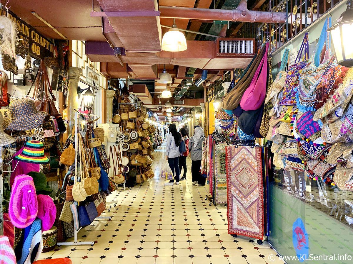 Souvenir store Central Market Kuala Lumpur