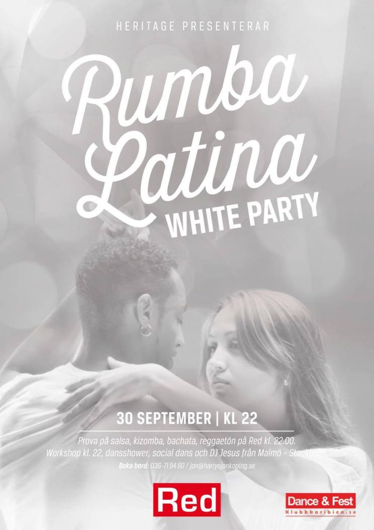 Rumba Latina Withe Party