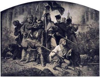 Styczniowe powstanie artur_grottger_obraz_bitwa_cykl_polonia_powstanie_styczniowe_18631
