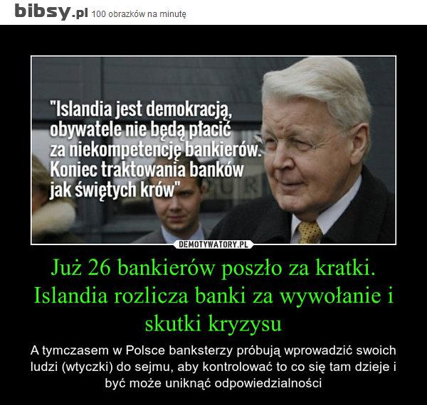 Bankierzy za kratki w Islandii
