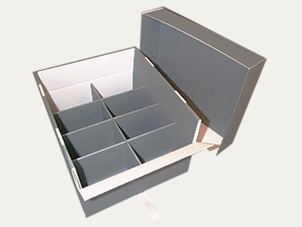 boites avec compartiments klug