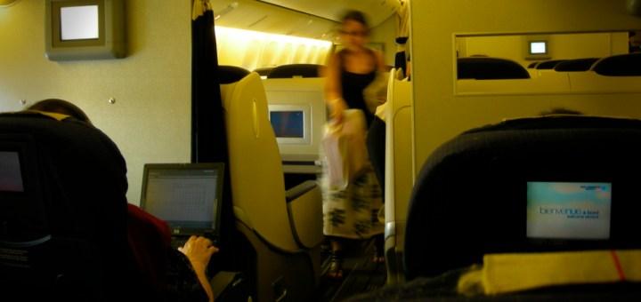 Air France機内