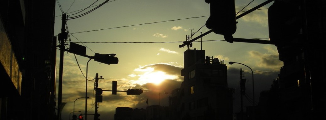2010年5月13日の夕暮れ