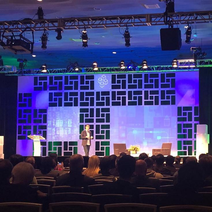 Bernie Moreno kicks off the Blockland Solutions Blockchain conference