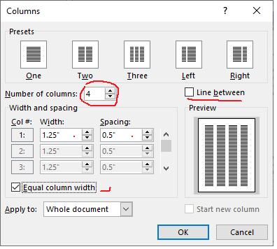 add column dialog box