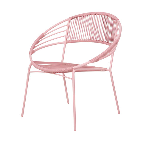 calypso chair pink