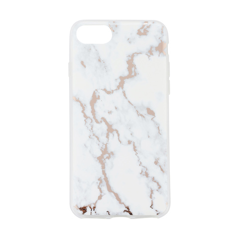 IPhone 66s78 Rose Gold Marble Look Case Kmart