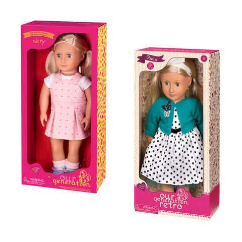 Our Generation Doll Aria Or Rachel Assorted Kmart