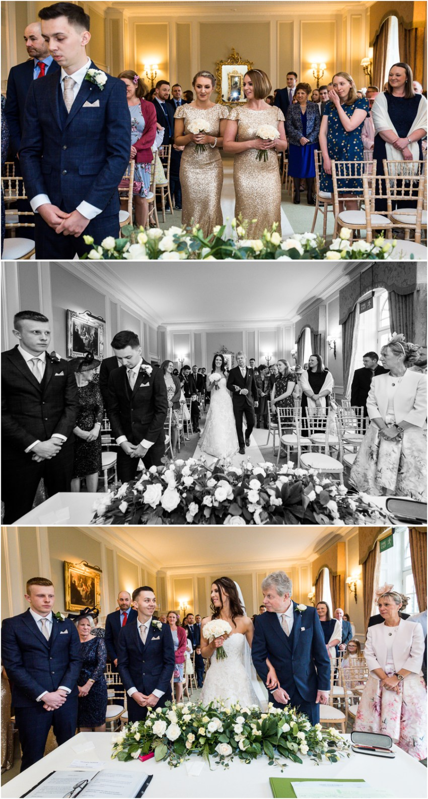ceremony at Bowcliffe Hall