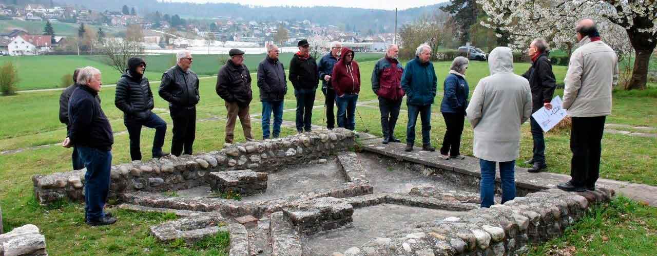 Besichtigung römischer Gutshof Winkel 2019