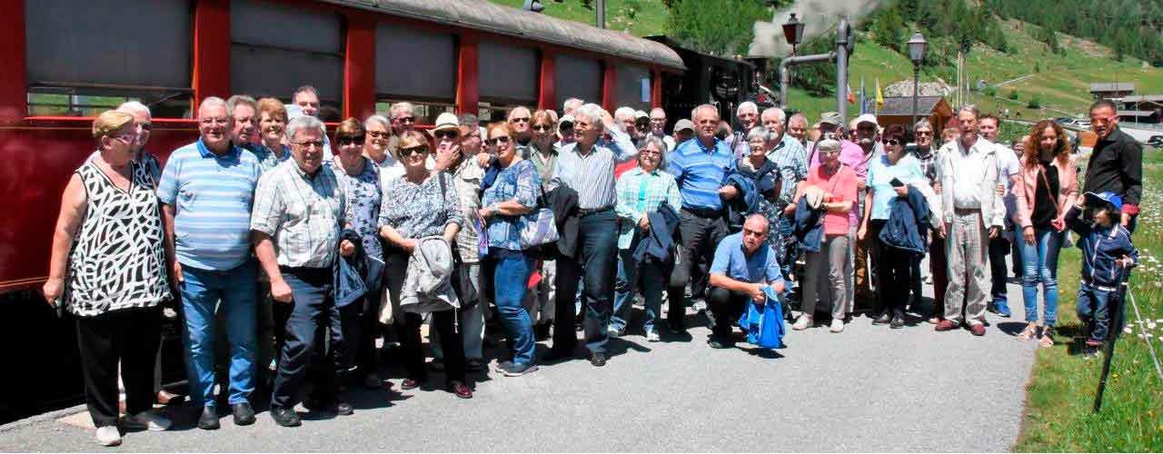 Pfarreiausflug 2019 - Impressionen der Reise