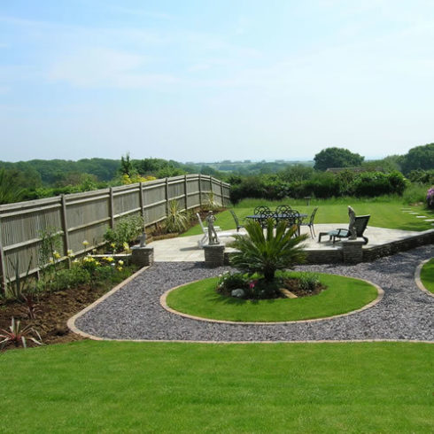 Professional Landscaping Work Such As Fencing Decking And