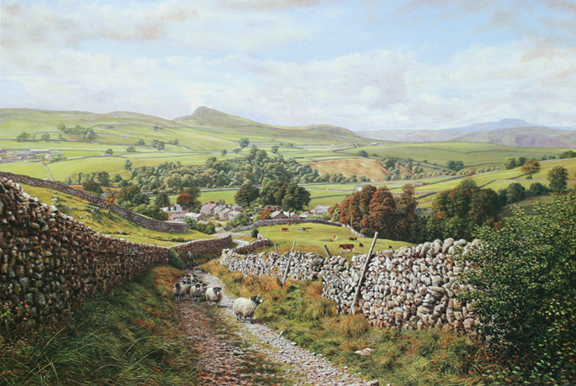 Ribblesdale - Yorkshire dales. Keith Melling