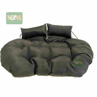 K&M Double Black Cushion