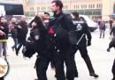 پۆلیسی ئەڵمانیا هێرشی کردە سەر خۆپیشاندەرانی کورد