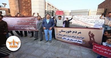 دەستبەسەری لانیکەم 1000 هاوڵاتی ناڕازی خوزستان تەنیا لە ماوەی یازدە ڕۆژدا