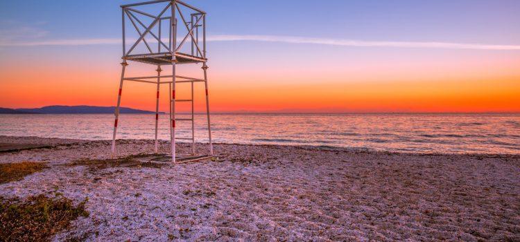 Spiaggia Della Pelosa - Sardinie