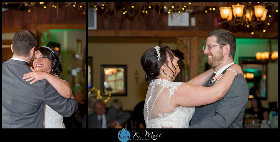 sincerity bridal-blackhorsevideography-stroudsburg pa wedding photographer - spring wedding - april wedding - choreographed first dance - bride and groom wedding dance - indoor wedding reception