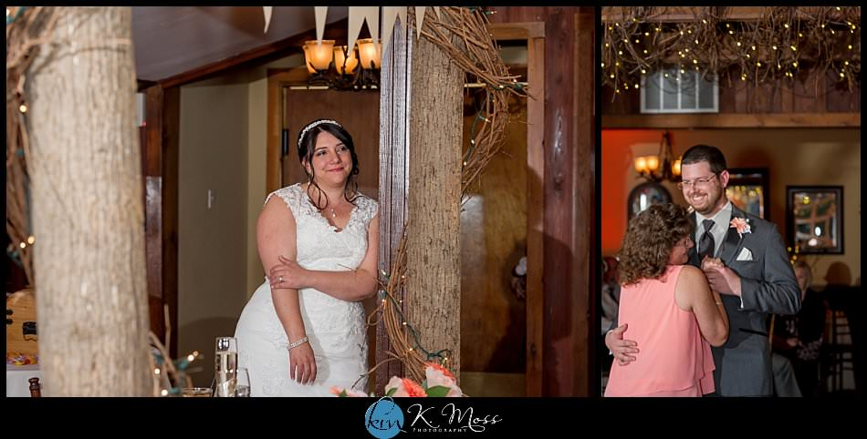 sincerity bridal-blackhorsevideography-stroudsburg pa wedding photographer - spring wedding - april wedding - emotional mother son dance - bride crying