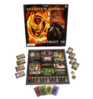 25 Last Minute Gifts for Book Lovers The Hunger Games District 12 Strategy Game