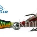 2.5cm 6.4g Lead bait hard lead plating  lure metal blade fishing bait-CH14LP17