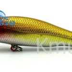 color blocking minnow bait fishing lure 85mm 8.9g topwater-CH14MN14