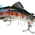 Whosale  multi Jointed Fishing  Lure 6.5″/97g  Trout Bait Swimbait-CH4J04F