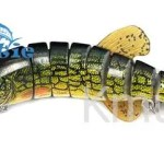 8oz-75g Multi-jointed Pike Lure 8-segmented Pike Bait Fishing Lure-CH8J02F