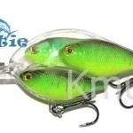 95mm 17g three crankbait Bait ball hard body crank bait fishing lures  CHMN27