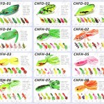Quanlity and latest design of frogs,stem from professional frog lure manufacturer