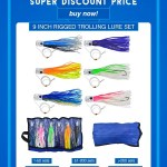 Marlin lure set&trolling lures package wholesale in discount price