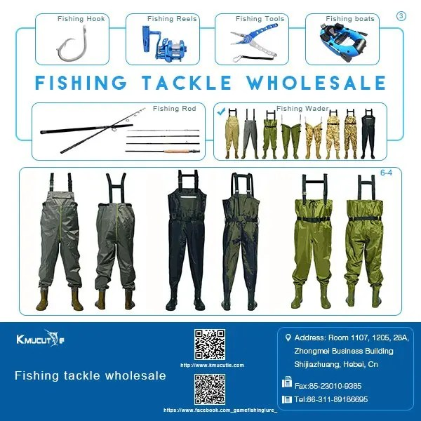 kmucutie fishing wader suppliers