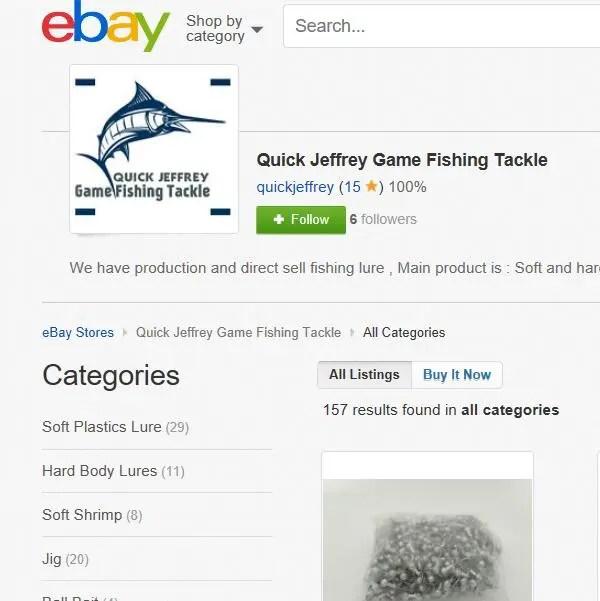 Quick Jeffrey Game Fishing Tackle ebay shop online retail
