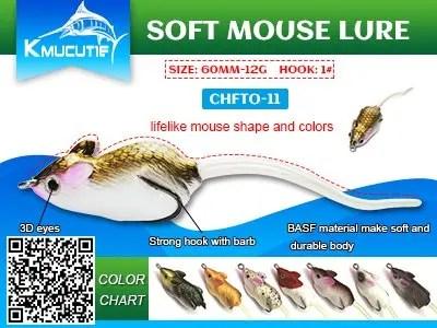 Kmucutie soft mouse lure