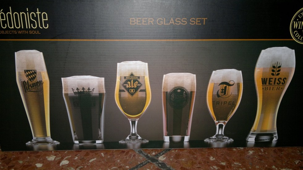Bicchieri Birra 6 Tipi - KMV Home Store stocKMarket