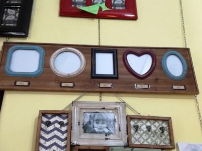 Cornice Multifoto Cuore Tondo Ovale Quadro Rettangolo Legno - KMV Home Store stockmarket