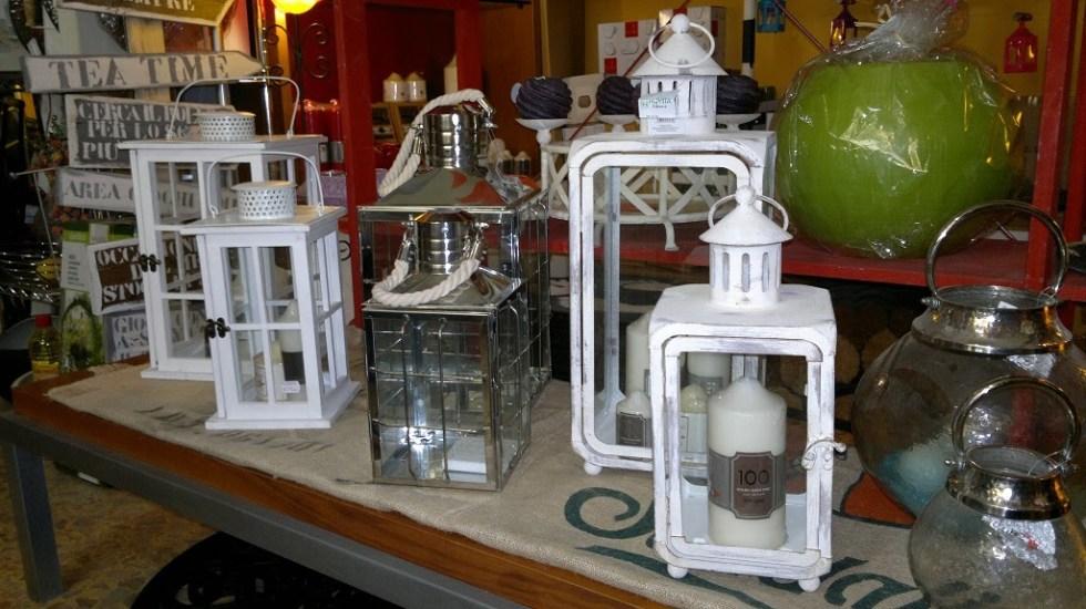 Lanterna Griglia Metallo Vetro - KMV Home Store stocKMarket