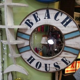 Specchio Mare Beach House Legno - Kmv Home Store stockmarket