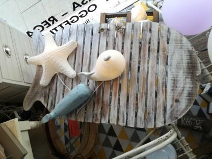 Tavolo Legno Pesce Pieghevole - KMV Home Store stocKMarket