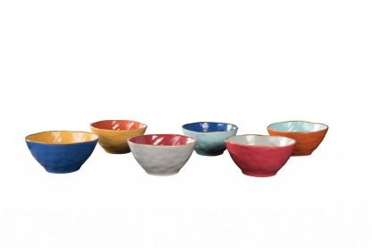 Insalatiera Piccola Zuppiera Gres Porcellanato Bicolore Toscana - KMV Home Store stocKMarket