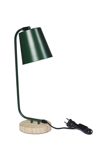 Lampada Abat Jour Verde Metallo - KMV Home Store - stocKMarket