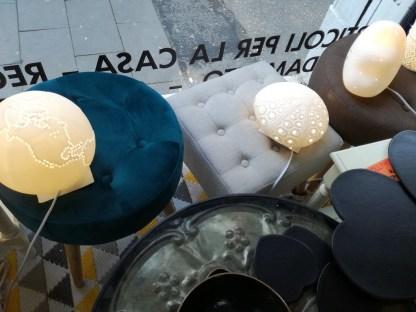 Lampada Tavolo Abat Jour Mappamondo Riccio di Mare Nuvola Porcellana Bianco – KMV Home Store stocKMarket