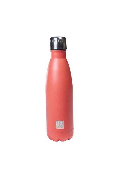 Thermos Borraccia Termica Rosa Corallo Acciaio - KMV Home Store - stocKMarket